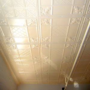 tin ceiling in loft apartment in park slope brooklyn 2nd floor on fifth avenue for rent  for rent
