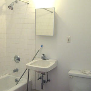 eramic tile bathroom 4d in williamsburg brooklyn loft apartment