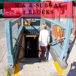 m & r subway station prospect ave 4 blocks